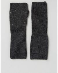 Alice Hannah - The Alice Long Arm Warmer With Studding - Lyst