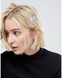 ASOS - Palm Tree Hair Clip - Lyst