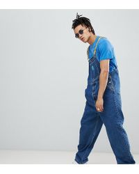 ASOS - The Simpsons X Denim Overalls With Taping - Lyst
