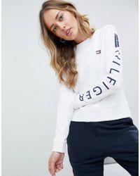 Tommy Hilfiger - Logo Sleeve Sweatshirt - Lyst