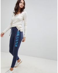 Hollister - Logo Skinny Trackpant - Lyst