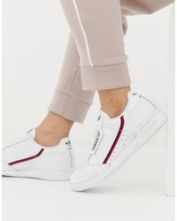 adidas Originals - White Continental 80 Trainers - Lyst