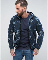 G-Star RAW - Strett Hooded Gym Bag Jacket - Lyst