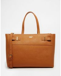 Modalu - Large Leather Shoulder Tote Bag - Lyst