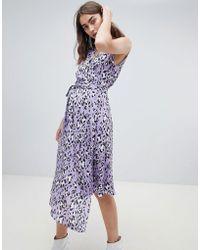 Gestuz - Leopard Wrap Dress - Lyst