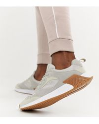 Pull&Bear - Runner In Beige With Gum Sole - Lyst