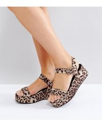 ASOS | Toucan Wide Fit Wedge Sandals | Lyst