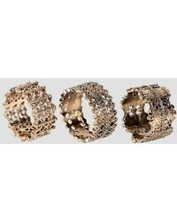 Glamorous | Multipack Filigree Rings | Lyst