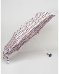 Cath Kidston | Minilite Umbrella In London Guards Print | Lyst