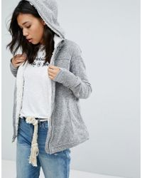 Abercrombie & Fitch - Borg Lined Jacket - Lyst