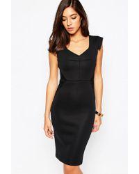 Little Black Dress - Blake Dress With Shoulder Detail - Lyst
