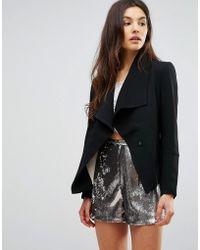 Greylin - Manda Oversize Collar Blazer - Lyst