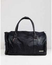 Ben Sherman | Barrel Bag In Black | Lyst