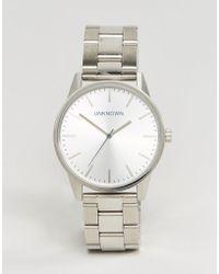 Unknown - Classic Bracelet Watch In Silver 39mm - Lyst