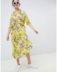 Minimum - Moves By Floral Shirt - Lyst