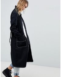 Cheap Monday | Summer Mac With Contrast Stitching | Lyst