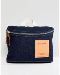 Weekday - Limited Collection Denim Cross Body Bag - Lyst