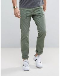 Esprit | 5 Pocket Casual Pants In Khaki | Lyst
