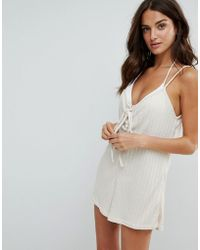 Somedays Lovin | Lovin Lattice Beach Playsuit | Lyst