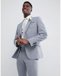 Reiss - Slim Wedding Suit Jacket In Wool Mix - Lyst