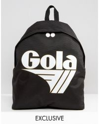 Gola | Exclusive Classic Backpack In Black And White | Lyst