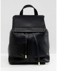 ASOS - Slouchy Backpack With Oversized Pockets - Lyst