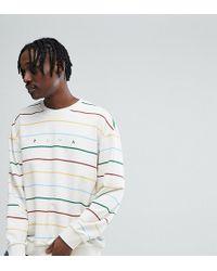PUMA - Stripe Crew Neck Sweater - Lyst