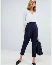 ASOS - 80's Tailored Trouser With Deep Pleat - Lyst