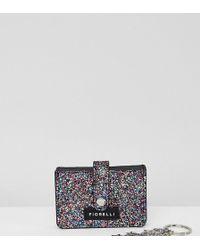 Fiorelli - Abi Glitter Card Holder With Detachable Keyring - Lyst
