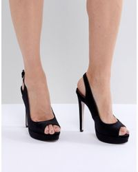 e3ef42ee385 Miss Kg - Esther Platform Heeled Sandals - Lyst