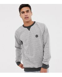 Volcom - Fleece In Grey - Lyst