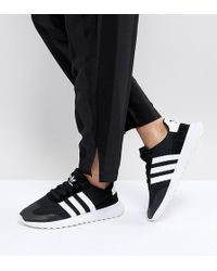 adidas Originals - Originals Flb Runner Trainers In Black - Lyst