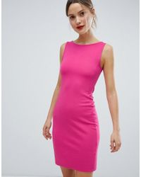 127eeff6278 French Connection - Lula Ponte Pencil Dress - Lyst