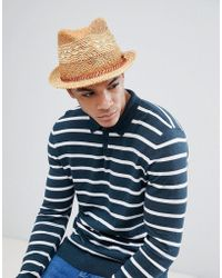 Selected Summer Trilby - Beige in Natural for Men - Lyst 6692e3a164df