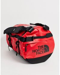 The North Face Base Camp Duffel Small In Red