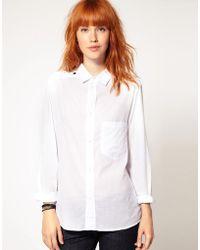 DIESEL - Clean Shirt - Lyst