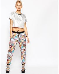 Jaded London - Colored Brooch Joggers - Lyst