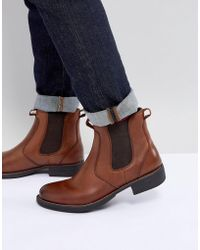 Eastland - Leather Chelsea Boots In Tan - Lyst