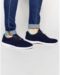 Bronx - Minimal Sneakers In Black - Lyst