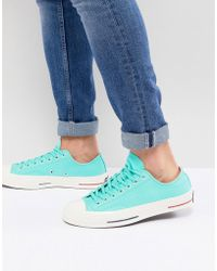 219320a0ebd40b Converse - Chuck Taylor All Star  70 Ox Plimsolls In Green 160495c - Lyst