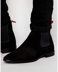 ASOS - Chelsea Boots In Suede - Lyst
