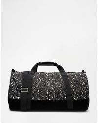 Mi-Pac - Splattered Barrel Bag - Lyst