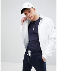 Henri Lloyd - Darton Tech Bomber Jacket In White - Lyst