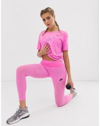 Nike Nike Air Running leggings In Pink
