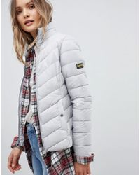 Barbour - International Aubern Quilt Jacket - Lyst