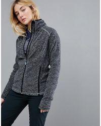 Roxy - Harmony Full Zip Fleece In Black - Lyst