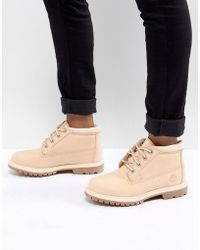 Timberland - Nellie Apple Blossom Flat Boots - Lyst