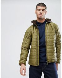 Barbour - Level Hooded Quilt In Green - Lyst