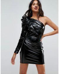 ASOS | Sexy Vinyl Mini Dress | Lyst