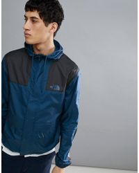 The North Face - 1985 Mountain Jacket Hooded 2 Tone In Blue - Lyst
